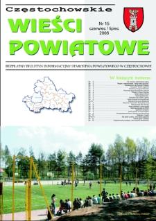 Częstochowskie Wieści Powiatowe, 2008, nr15