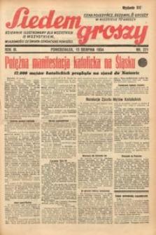Siedem Groszy, 1934, R. 3, nr 221