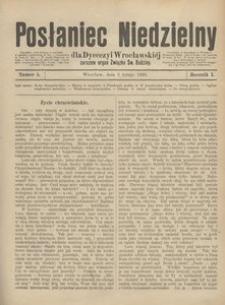 Posłaniec Niedzielny, 1895, R. 1, Nr 5