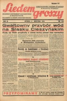 Siedem Groszy, 1934, R. 3, nr 243