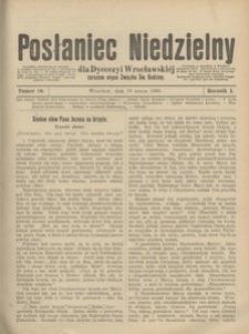 Posłaniec Niedzielny, 1895, R. 1, Nr 10