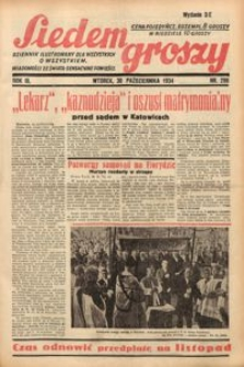 Siedem Groszy, 1934, R. 3, nr 299