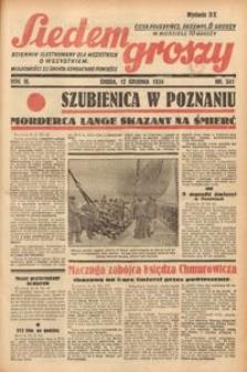 Siedem Groszy, 1934, R. 3, nr 341