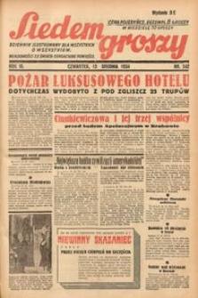 Siedem Groszy, 1934, R. 3, nr 342