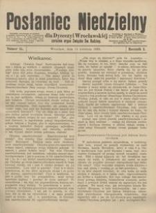 Posłaniec Niedzielny, 1895, R. 1, Nr 15