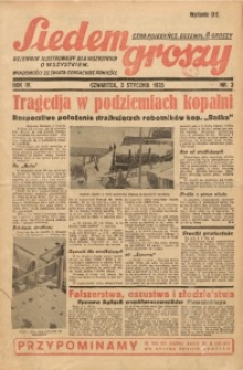Siedem Groszy, 1935, R. 4, nr 3