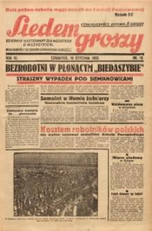 Siedem Groszy, 1935, R. 4, nr 10