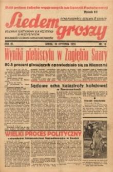 Siedem Groszy, 1935, R. 4, nr 16