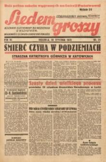 Siedem Groszy, 1935, R. 4, nr 21