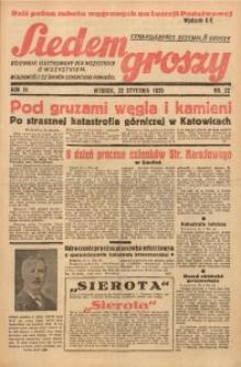 Siedem Groszy, 1935, R. 4, nr 22a