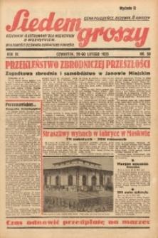Siedem Groszy, 1935, R. 4, nr 58
