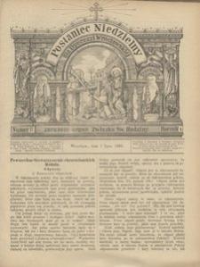 Posłaniec Niedzielny, 1895, R. 1, Nr 27