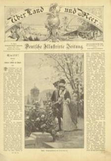 Uber Land und Meer. Deutsche Illustrirte Zeitung. 1897, nr 28