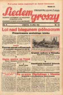 Siedem Groszy, 1935, R. 4, nr 194
