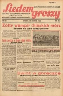 Siedem Groszy, 1935, R. 4, nr 234