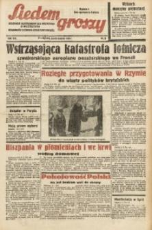 Siedem Groszy, 1939, R. 8, nr 9