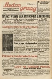 Siedem Groszy, 1939, R. 8, nr 19
