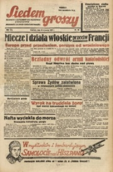 Siedem Groszy, 1939, R. 8, nr 29
