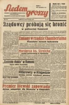 Siedem Groszy, 1939, R. 8, nr 30