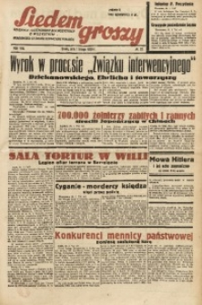 Siedem Groszy, 1939, R. 8, nr 32