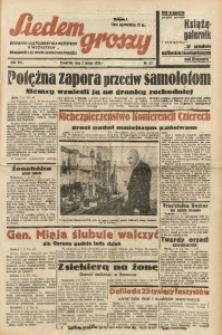 Siedem Groszy, 1939, R. 8, nr 33