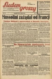 Siedem Groszy, 1939, R. 8, nr 86