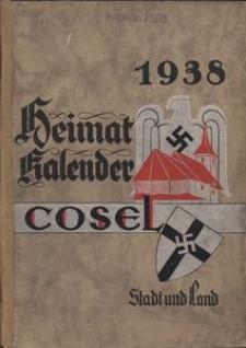 Heimat-Kalender für den Stadt und Landkreis Cosel OS, 1938, Jg. 3