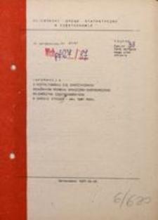 Informacja o Kształtowaniu się Syntetycznych Wskaźników Rozwoju Społeczno-Gospodarczego Województwa Częstochowskiego w Okresie Styczeń–Maj 1987 Roku