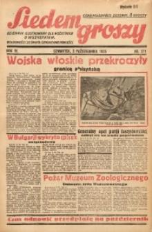 Siedem Groszy, 1935, R. 4, nr 271