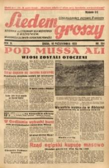 Siedem Groszy, 1935, R. 4, nr 284