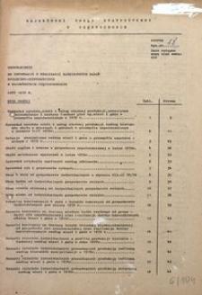 Uzupełnienie do Informacji o Realizacji Ważniejszych Zadań Społeczno-Gospodarczych w Województwie Częstochowskim. Luty 1979 R.
