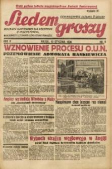 Siedem Groszy, 1936, R. 5, nr 9