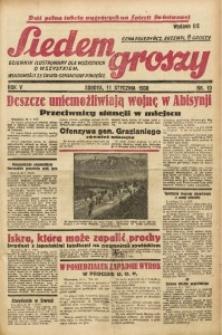 Siedem Groszy, 1936, R. 5, nr 10