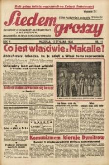 Siedem Groszy, 1936, R. 5, nr 11
