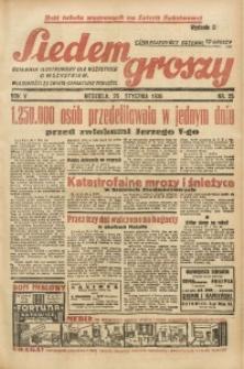 Siedem Groszy, 1936, R. 5, nr 25