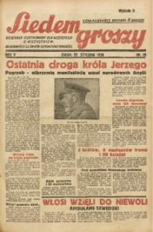 Siedem Groszy, 1936, R. 5, nr 28