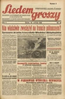 Siedem Groszy, 1936, R. 5, nr 49