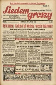 Siedem Groszy, 1936, R. 5, nr 53