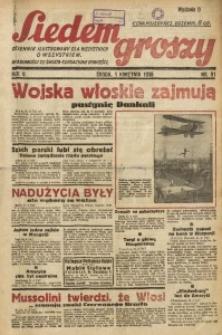 Siedem Groszy, 1936, R. 5, nr 91