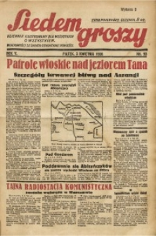 Siedem Groszy, 1936, R. 5, nr 93