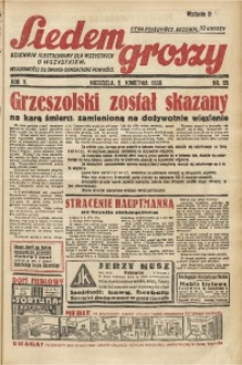 Siedem Groszy, 1936, R. 5, nr 95