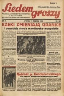 Siedem Groszy, 1936, R. 5, nr 102