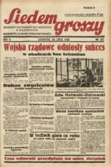 Siedem Groszy, 1936, R. 5, nr 207