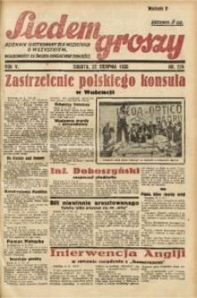 Siedem Groszy, 1936, R. 5, nr 229