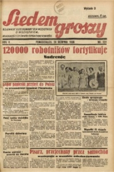 Siedem Groszy, 1936, R. 5, nr 231