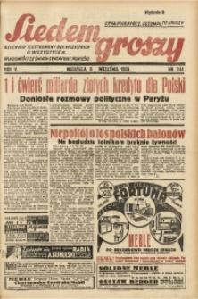Siedem Groszy, 1936, R. 5, nr 244