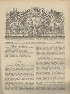 Posłaniec Niedzielny, 1896, R. 2, Nr 44