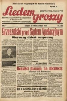 Siedem Groszy, 1936, R. 5, nr 292