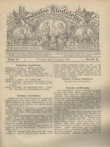 Posłaniec Niedzielny, 1896, R. 2, Nr 50