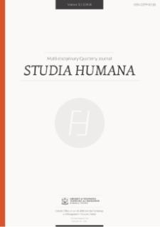 Studia Humana, 2014, Vol. 3:2